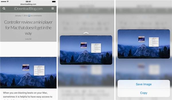 3D Touch在Safari内的八个应用,你会吗?