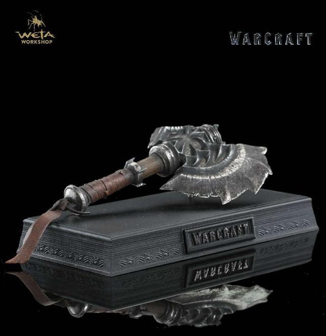 魔兽电影周边国外预售  莱恩大剑249美刀