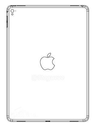苹果iPad Air 3最新设计图曝光:LED补光灯+4个扬声器