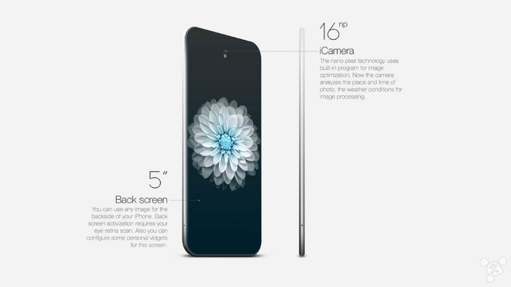 双屏幕超窄边框iPhone概念:美到窒息了没