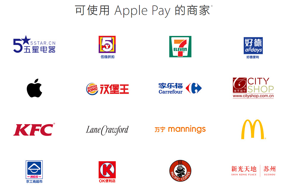 哪里可以使用Apple Pay?公交可以吗?