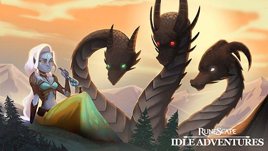 新颖放置类RPG《RS:艾德尔大冒险》今夏上架