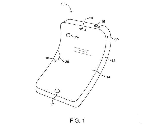 可变形的柔性iPhone要来了 美的不要不要的