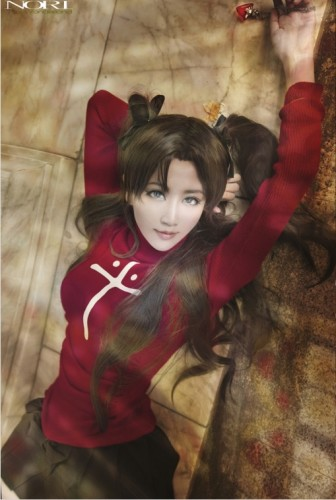 台湾性感Coser身材给力 最爱恐怖游戏