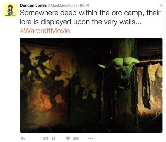 魔兽电影导演邓肯又喝多了 兽人营地内景曝光