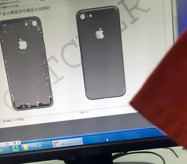 iPhone 7外壳遭曝光:三段线设计消失不见!