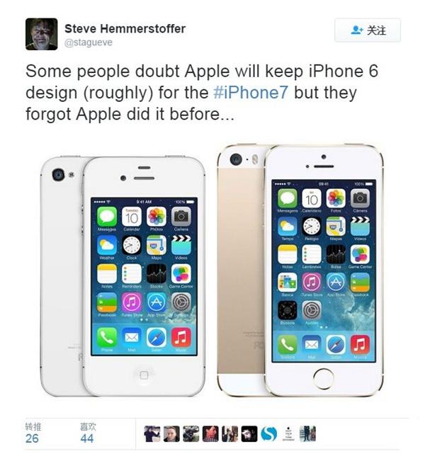 哈哈,好有爱!iPhone 7的天线会拐弯