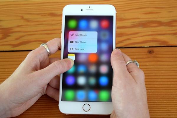 iPhone 6s的3D Touch功能没有成片爆发