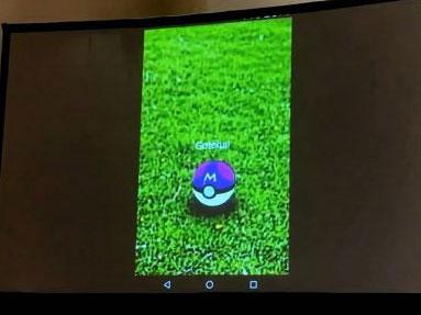 惊鸿一瞥!《Pokémon GO》游戏视频首度曝光