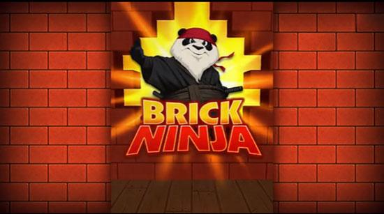 熊猫弃功夫转行做忍者 休闲新作《Brick Ninja》曝光