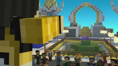 《我的世界:故事版》第五章推出 开启天空之城新冒险
