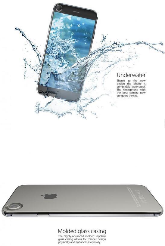 iPhone 7概念作品:前后摄像头设计你接受吗