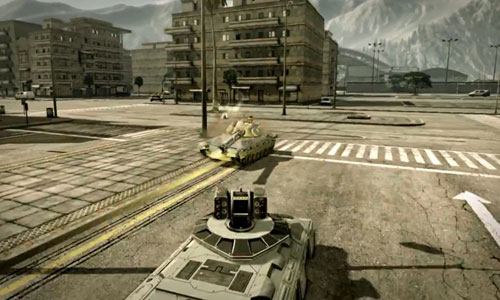 高科技坦克大战一触即发 射击手游《无限坦克》曝光