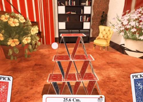 看谁堆的高?益智手游《纸牌城堡》即将上架