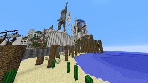 神迹!《我的世界》玩家重现《纪念碑谷》场景