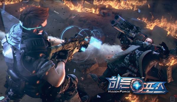 超级病毒即将爆发 韩FPS新作《Hidden Force》上半年发布