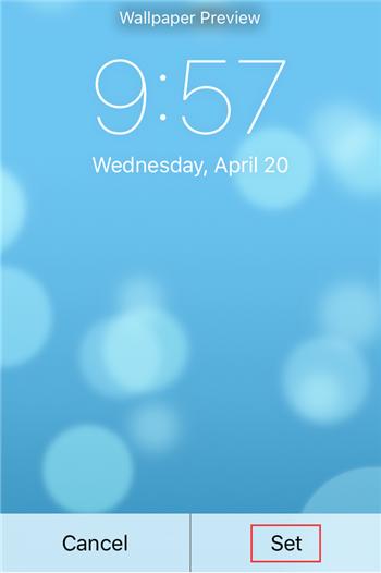 如何给苹果iPhoneSE设置喜欢的壁纸