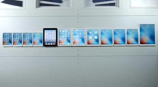 一代更比一代强 iPad史上最全测试对比