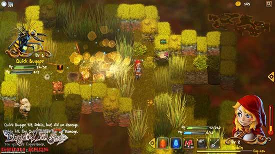 性感成人版小红帽登场 RPG《龙翅汤》年内发布