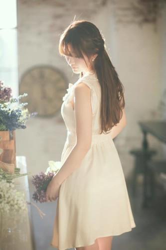 豹纹内衣A4腰 韩国第一美少女yurisa的另一面