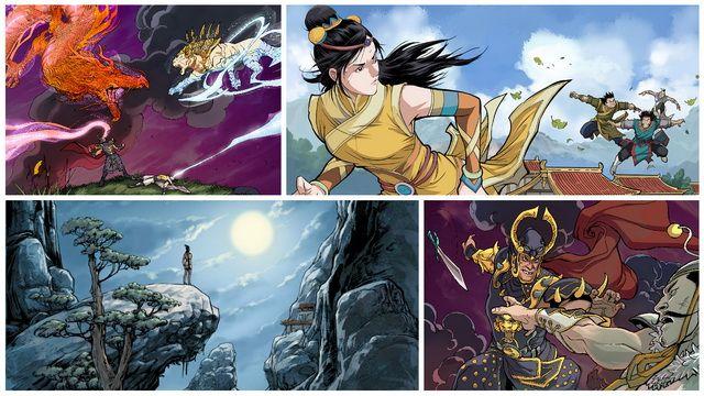 老外的武侠情结 新作《Shuyan》明年上线