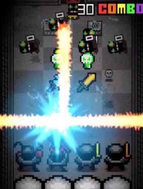 《像素节拍》:战斗版的太鼓达人 跟着节奏动次打次
