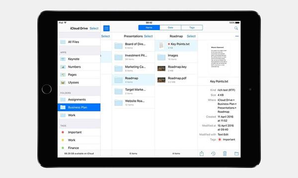 iOS 10 的愿望清单:iCloud Drive 有所改善