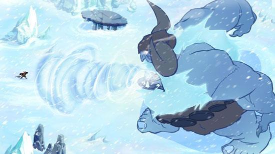 手绘风格的独立游戏《巨人约顿》即将上架