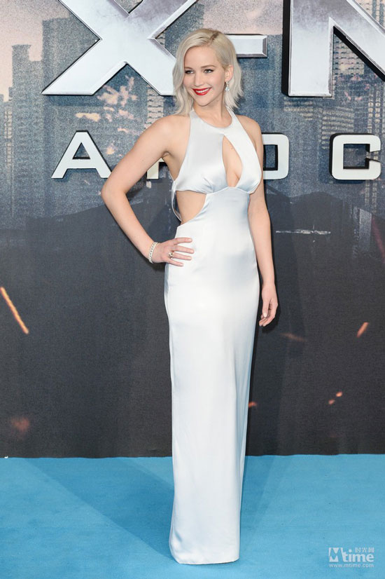 《X战警:天启》伦敦首映式图赏 大表姐詹妮弗好美