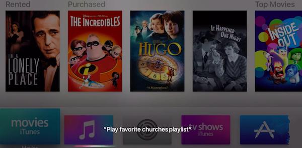 未来: Siri 也可以用来录制电视内容