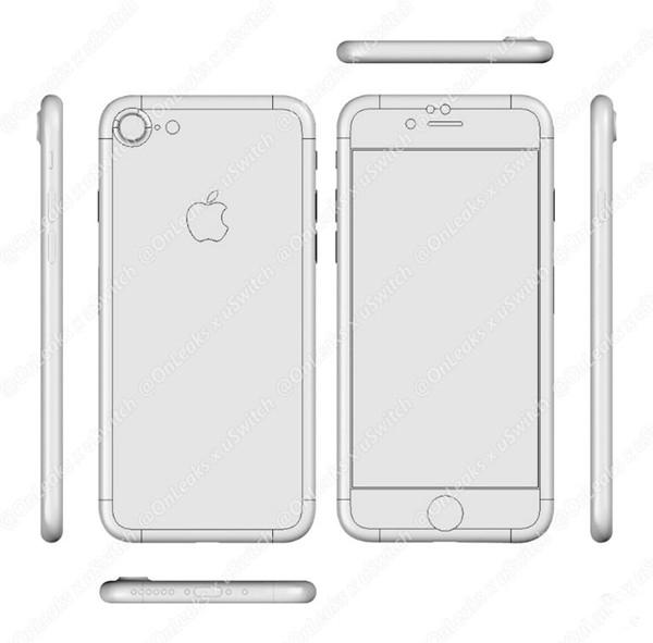最详细的iPhone 7设计蓝图:无3.5mm接口