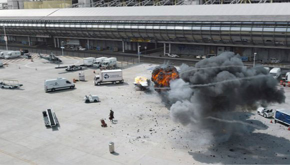 《美队3》的机场大战是怎么拍出来的?