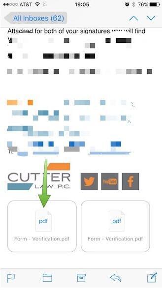 教你如何将iPhone的邮件附件存到iCloud Drive
