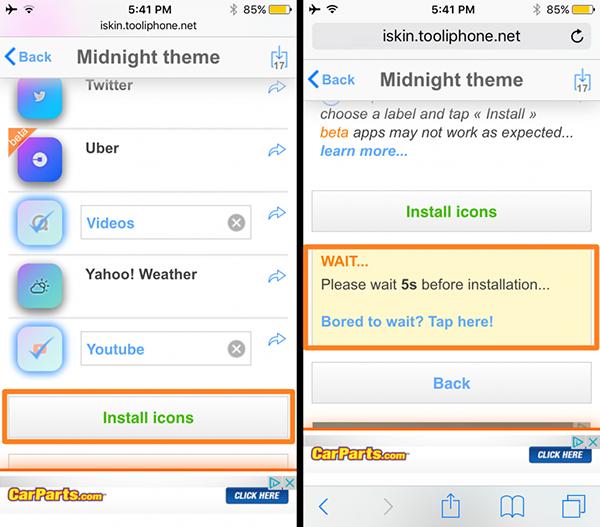 不越狱如何为iOS设备安装主题?