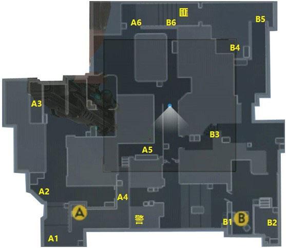 FPS经典地图 《全民枪战》中东沙漠战术点位分析