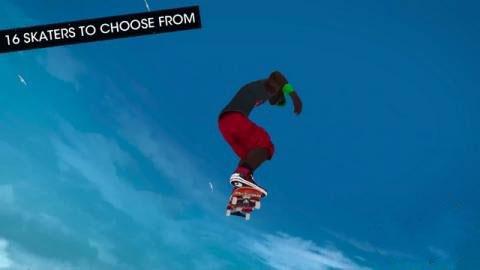 《滑雪板盛宴》系列开发商新作《滑板派对3》曝光:挑战极限运动