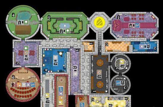 打造梦幻城堡 桌游《疯王堡》即将推出移动版