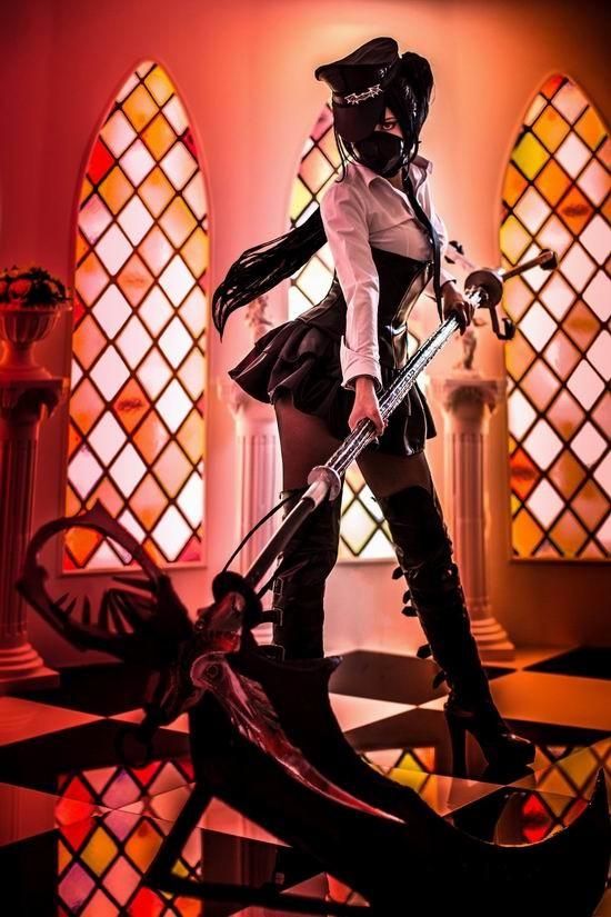这个黑暗元首好性感 一周大湿级cosplay欣赏