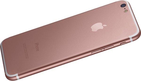 玫瑰金iPhone 7,这样的设计你是否满意?