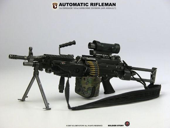 最持久连射武器 《全民枪战》M249机枪实战点评