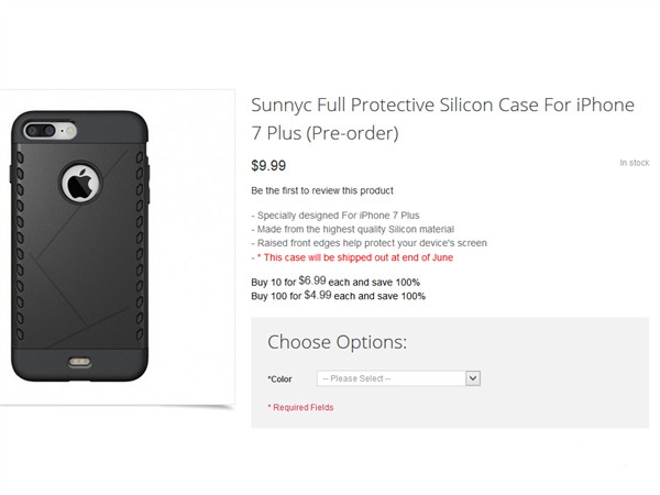 保护壳泄天机:iPhone 7 Plus就是双摄像头!