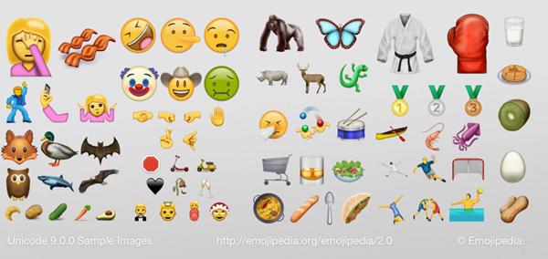 不光有新功能,iOS10还有一大波新Emoji表情