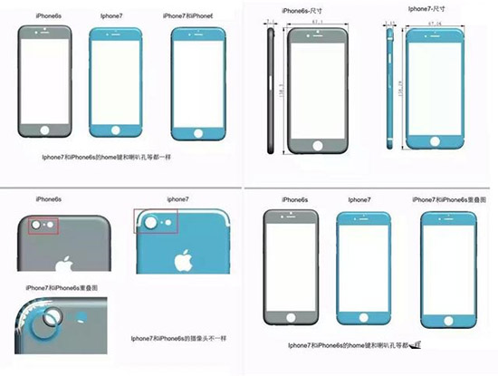 iPhone 7大思路已经定型  外形就是如此