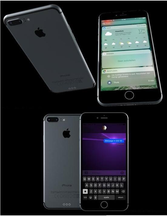运行iOS 10的iPhone 7曝光? 几乎以假乱真