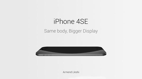 iPhone 4SE闪亮登场!这脑洞开得有点大