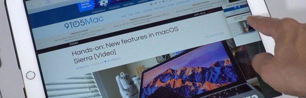 如何在iPad上使用iOS10的Safari分屏功能?
