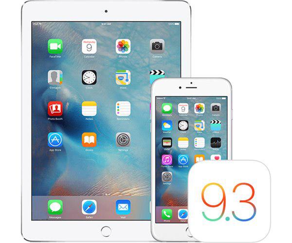 苹果iOS9.3.3开发者预览/公测版Beta3推送