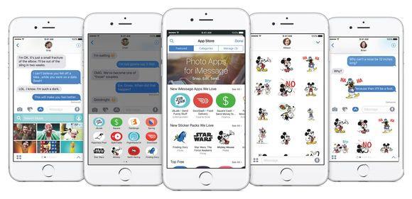 不止是几个表情!iOS 10 iMessage已是平台