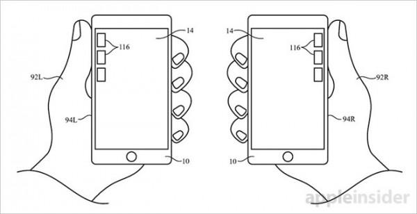 苹果新专利:用户单手操作大屏手机爽歪歪
